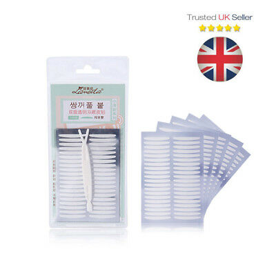 Double-Sided Eyelid Tape (200 pcs) - Eyelift for Hooded Eyes Monolid - UK Seller