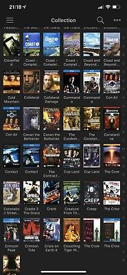 4K Blue-ray DVD Collection Over 3000 Movies Home Cinema UK Versions