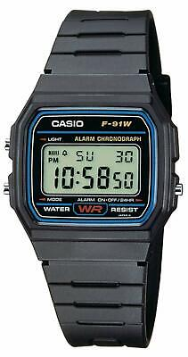 Casio Digital Watch Unisex Adults Stop Alarm Function Water Resistant Back Light