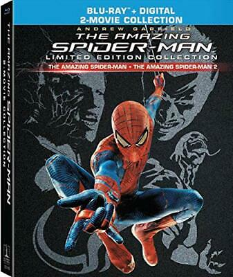 The Amazing Spider-Man 1 / 2 (DigiBook, 3 Disc, Limited, Collectors) BLU-RAY NEW