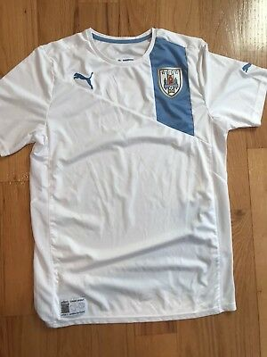100% authentic 0e177 b6fe8 URUGUAY NATIONAL TEAM Soccer Jersey Puma Top Football Shirt