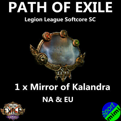 Path of Exile POE Currency - 1 x Mirror of Kalandra Synthesis League Softcore SC