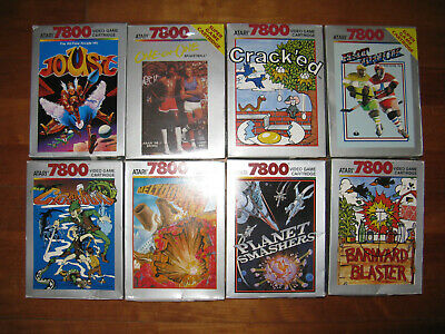 Atari 7800 Boxed Games Wholesale Joblot Bundle Collection