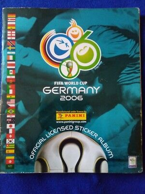 FIFA Germany 2006 Official Panini Album Complete