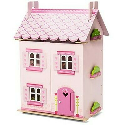 My First Dreamhouse  Traditional Wooden Dolls House  Including Furniture
