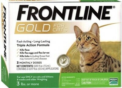 Frontline Plus Gold Cats
