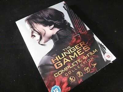 The Hunger Games: Complete 4-Film Collection - DVD, 2016 - New & Sealed - Action
