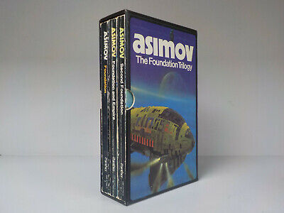 Isaac Asimov - The Foundation Trilogy - Panther Box Set - 3 Books! (ID:759)