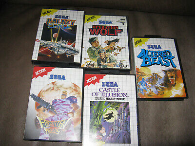 Sega Master System Games Wholesale Joblot Bundle Collection