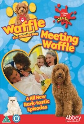 Waffle the Wonder Dog: Meeting Waffle (DVD, 2018) *NEW/SEALED* FREE P&P