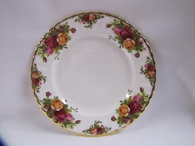 Royal Albert Plate Old Country Roses Side Plate England Vintage 1962