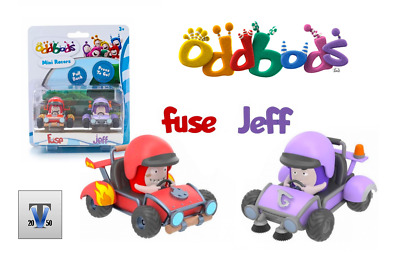 Oddbods Action Vehicle Set FUSE RARE NEW in Box Worldwide Shipping