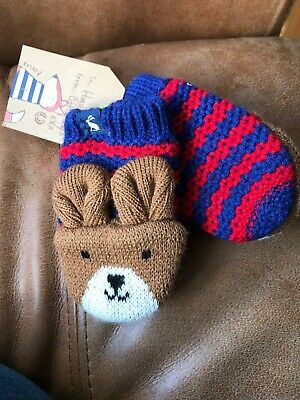 Joules Baby Mittens S/M