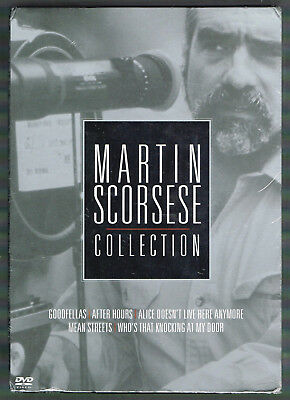 Martin Scorsese Collection (5-Pack) (DVD, 2004, 5-Disc Set) brand new set