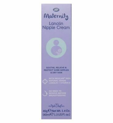 Boots Maternity Lanolin Nipple Cream Sooth Relieve Protect 100% Natural Lanolin