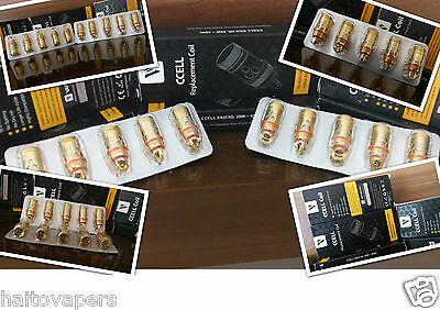 Authentic Vaporesso cCELL Ceramic Coils for Target Tank (5 Pack)