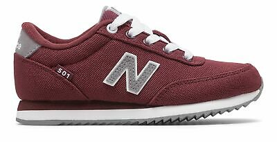 New Balance Kid's 501 Big Kids Male Shoes Red with Grey