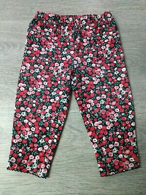 Baby girl floral leggings size 3-6 months by Carter's