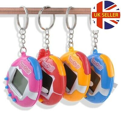 TAMAGOTCHI Electronic Virtual Cyber Pet Retro Toy Game 90's Nostalgic KeyRing