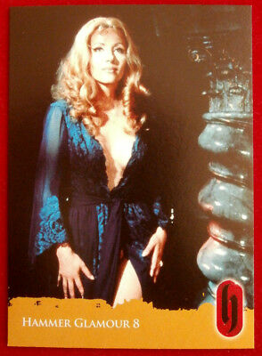 HAMMER HORROR GLAMOUR - Ingrid Pitt - Card C8-S2 Strictly Ink 2010