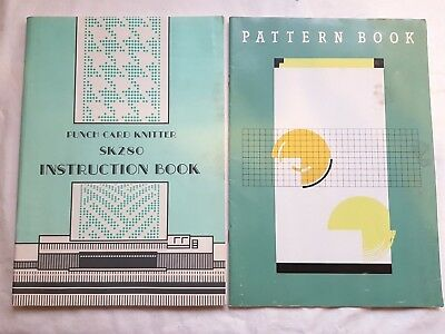 Bk112 Silver Reed Knitting Machine Sk280 Mod280 Operation & Pattern Manuals  X2