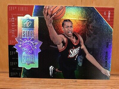 1998-99 Allen Iverson #143 UD SPX Finite Star Power Spectrum 052/250 upper deck