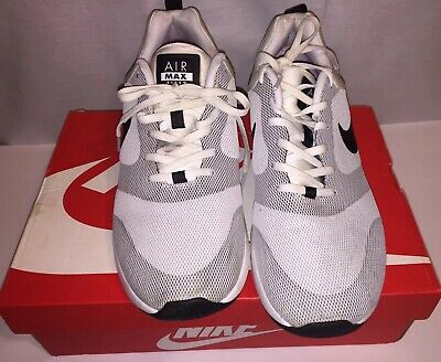 factory price 30893 ddba7 Nike Air Max Siren Mens white and black mesh sneakers size 10.5 pre owned