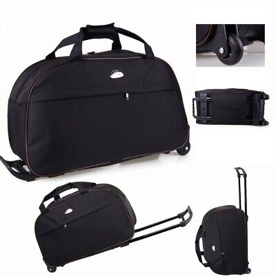 """24"""" Luggage Duffel Bag Travel Wheel Hand Suitcase Tote Carry On Gym Makeup Bag"""