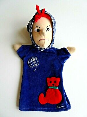Vintage Hand Puppet Witch STERNTALER Germany