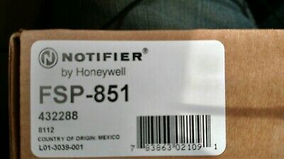 BRAND NEW in box NOTIFIER FSP-851. FREE SHIPPING.