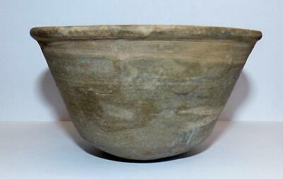 Holy Land Persian Period Pottery Bowl  - 6Th Century Bce - Untouched  Condition.