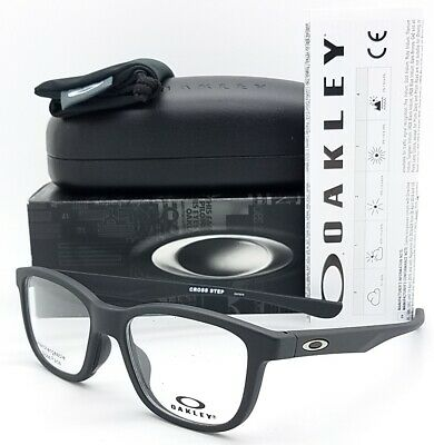 145ddd5f53c NEW Oakley Cross Step RX Prescription Frame Satin Black OX8106-0150 50mm  8106