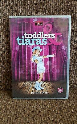 Dvd TLC Season One of Toddlers & Tiaras Brand New Factory sealed Free Shipping!