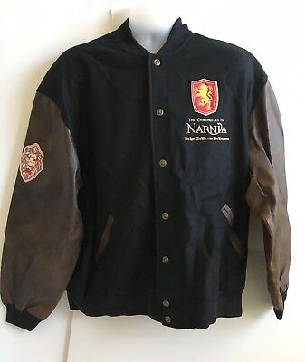 Disney Chronicles Of Narnia Wool & Leather Jacket L Limited Edition of 350 NEW !