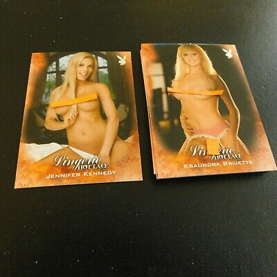 Non Sport Trading Cards 15 Different Playboy Lingerie Hot Lace(B)