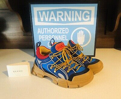 3c9d2494578 gucci flashtrek sneakers Men s Size 9 Gucci  10 US 100% Authentic Made In  Italy