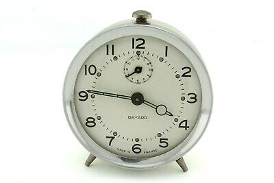 RARE Vintage French BAYARD desk alarm clock