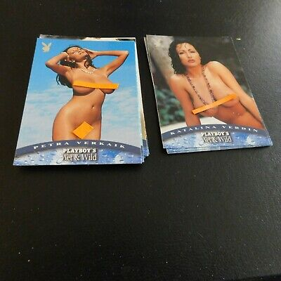 Non Sport Trading Cards 15 Different Playboy Wet&wild(A)