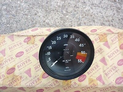ROVER P5 3-Litre Coupe MK2 Tachometer.   New Old Stock.  Part no 545212.