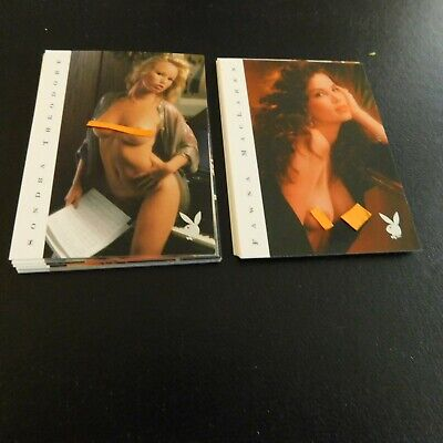 Non Sport Trading Cards 15 Different Playboy Centrefolds(B)