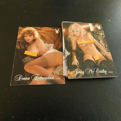 Non Sport Trading Cards 15 Different Playboy Playmate Of The Year (2)
