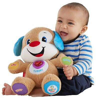 Fisher Price Laugh Learn Smart Stages Sis TOY BEAR Interactive PUPPY PLUSH LN