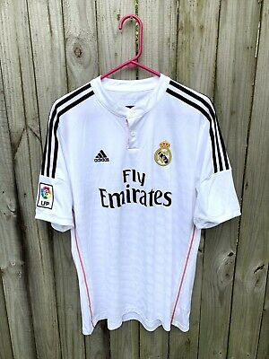 a0acdde1c Adidas James Rodriguez Real Madrid 2014-2015 Home Soccer Jersey Kit - L  Large