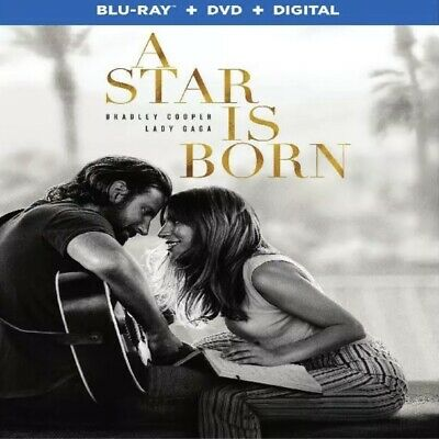A Star Is Born(Blu-Ray+Dvd+Digital)W/slipcover New Free Shipping