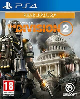 Tom Clancy's The Division 2 Gold Edition (PS4) (New) - (Free Postage)
