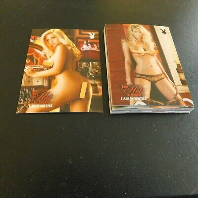 Non Sport Trading Cards 15 Different Playboy Hot To Handle(B)