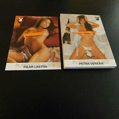 Non Sport Trading Cards 15 Different Playboy Playmates In Bed(E)