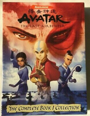Avatar: The Last Airbender: The Complete Book 1 Collection [New DVD] Boxed Set