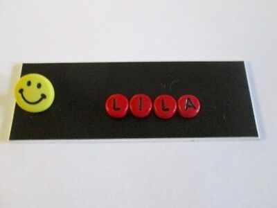 Id Name Tag Badge Magnet Or Pin Happy Face Medical,pediatric,office,nurse,icu,er
