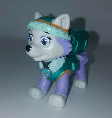 PAW Patrol EVEREST Action Pack Pup Metallic Series Limited Edition Husky Figure